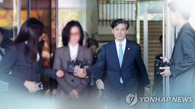 정경심 한 법정 설까…조만간 병합여부 결정 (CG) [연합뉴스TV 제공]