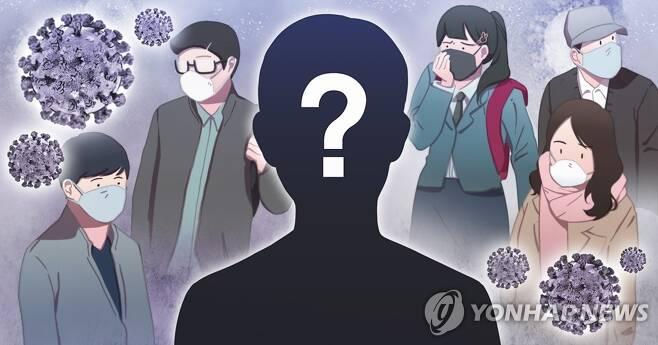 코로나19 감염경로 미궁 (PG) [장현경 제작] 일러스트