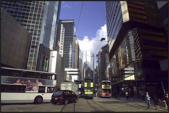 홍콩 거리 풍경(사진=스마트이미지 제공)