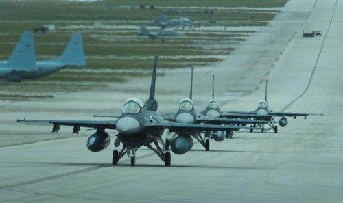일본 항공자위대 F2 전투기. [연합뉴스 자료사진, 항공자위대 제공, 재판매 및 DB 금지]