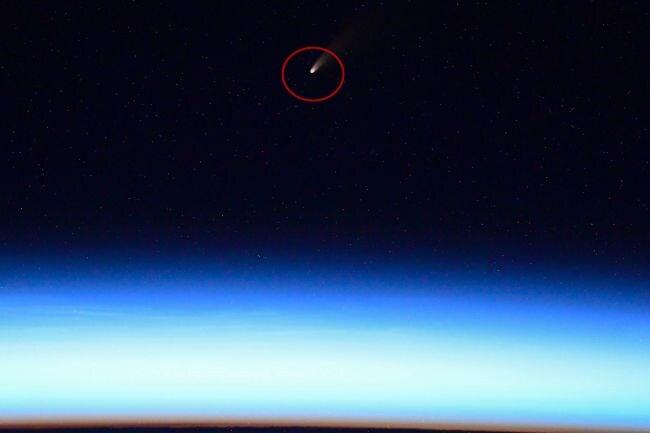 지난 4일 이반 바그너가 촬영한 혜성 C/2020 F3