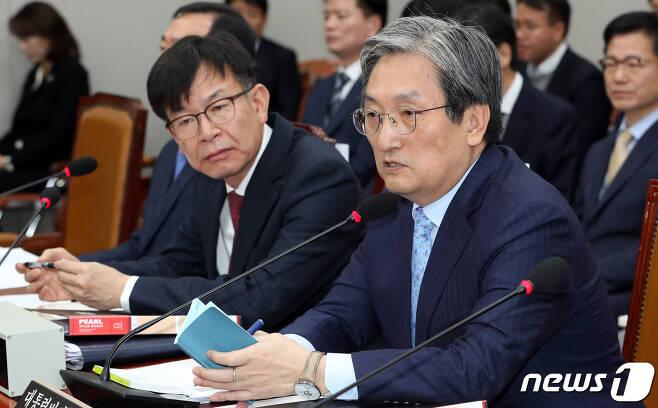노영민 대통령 비서실장. 2019.11.29/뉴스1 © News1 이종덕 기자