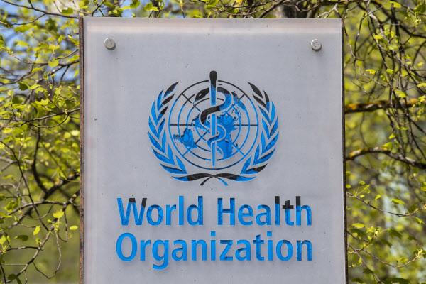 세계보건기구(WHO)의 로고. /EPA 연합뉴스