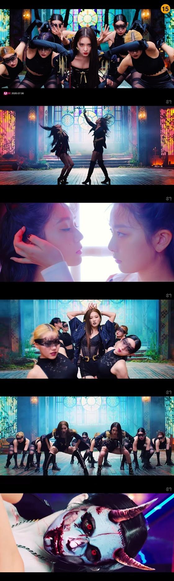 레드벨벳-아이린&슬기(Red Velvet - IRENE & SEULGI) 'Monster' 뮤직비디오 화면캡쳐