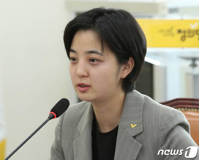 류호정 정의당 의원. © News1 신웅수 기자