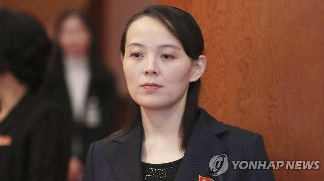 김여정 북한 노동당 제1부부장 [촬영 김주형]