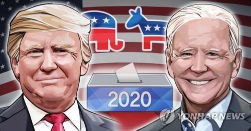 2020 미국 대선 트럼프 대통령 - 조 바이든 전 부통령 (PG)  [정연주 제작] 일러스트