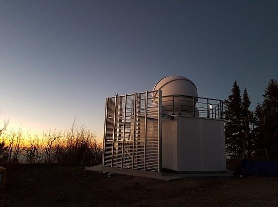 지구 주변의 우주물체를 감시하고 있는 OWL-Net 4호기/사진=천문연