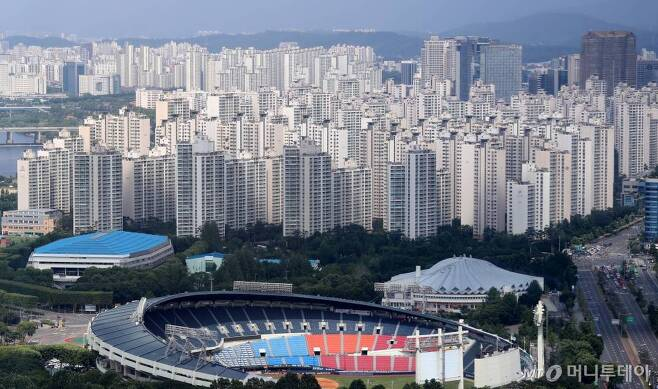 서울 송파구 일대의 아파트 모습. / 사진=이기범 기자 leekb@