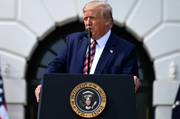도널드 트럼프 미국 대통령. AFP 연합뉴스