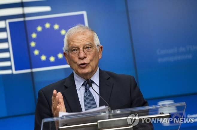 유럽연합(EU)의 대외정책을 총괄하는 호세프 보렐 외교·안보정책 고위대표 [EPA=연합뉴스 자료사진]
