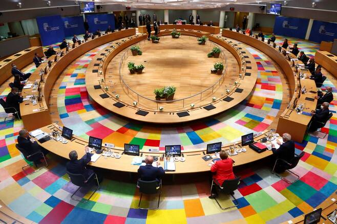 유럽연합(EU) 정상회의/사진=AFP