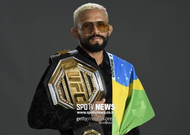 ▲ UFC 플라이급 챔피언 데이베손 피게레도. 드미트리우스 존슨이 돌아온다고 해도 KO로 이길 수 있다고 자신했다.