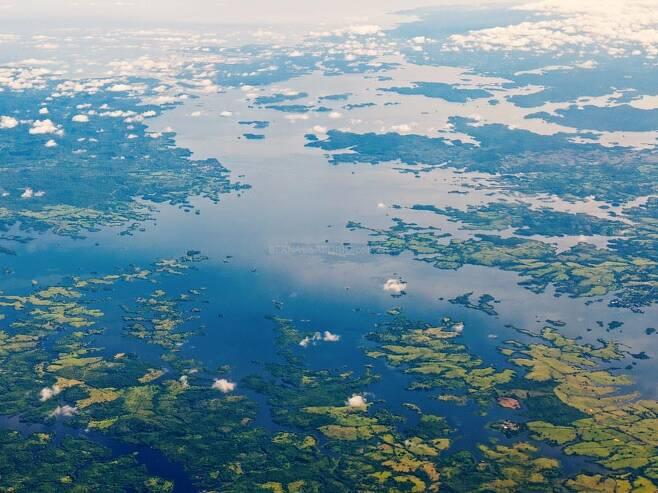 파나마 가툰 호수[플리커 사이트 캡처]