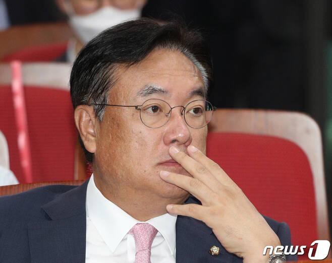 정진석 미래통합당 의원 2020.7.16/뉴스1 © News1 신웅수 기자