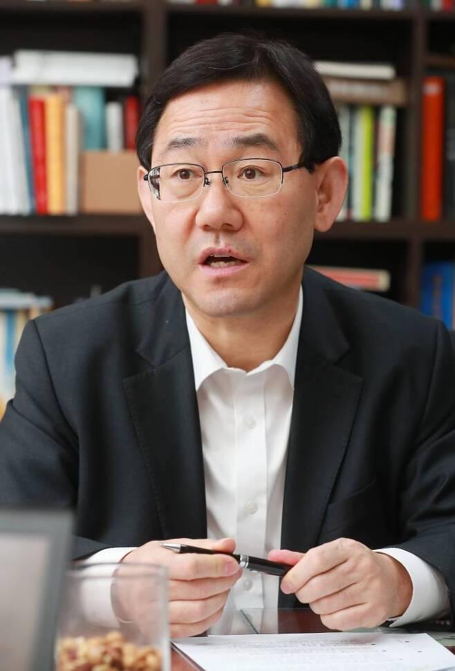 2019.02.19 주호영 자유한국당 의원 인터뷰 / 사진=이동훈 기자 photoguy@