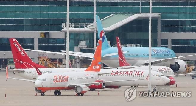 제주항공, 결국 이스타항공 인수 포기 [연합뉴스 자료사진]
