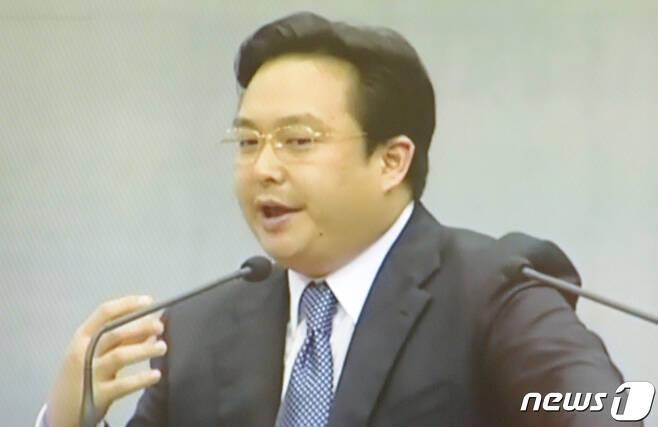 유혁기씨(YTN 화면 캡처). 2020.7.24/뉴스1