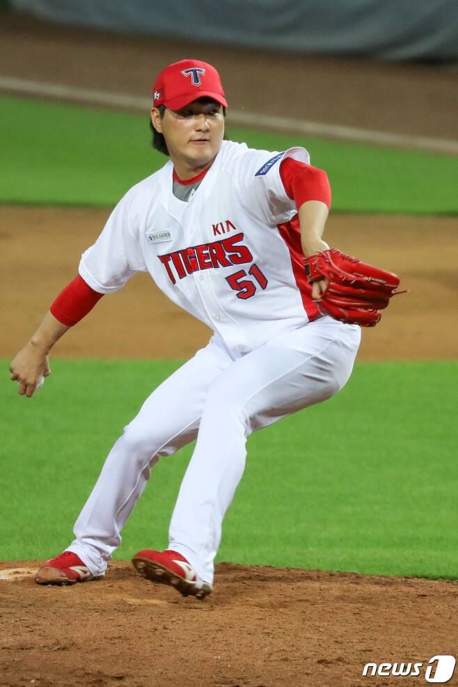 KIA 타이거즈 전상현. 뉴스1 © News1 한산 기자