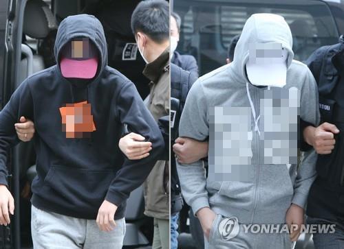 '집단 성폭행' 혐의 중학생들 [연합뉴스 자료사진]