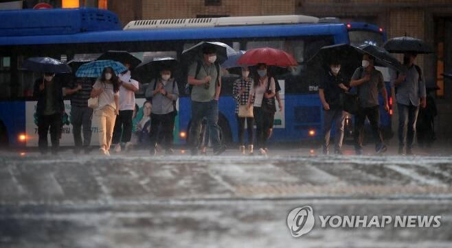 비 내리는 날씨 [연합뉴스 자료사진]