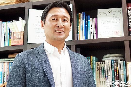 용인대학교 유도경기지도학과 전기영 교수(사진=엠스플뉴스 이근승 기자)