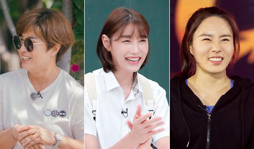 '스포츠 여제'들의 예능 활약이 눈부시다. 전 프로골퍼 박세리·배구 스타 김연경·스피드스케이팅 전 국가대표 이상화(왼쪽부터)가 안방극장과 유튜브를 넘나들며 남다른 존재감을 과시하고 있다. 사진제공|E채널·JTBC·tvN