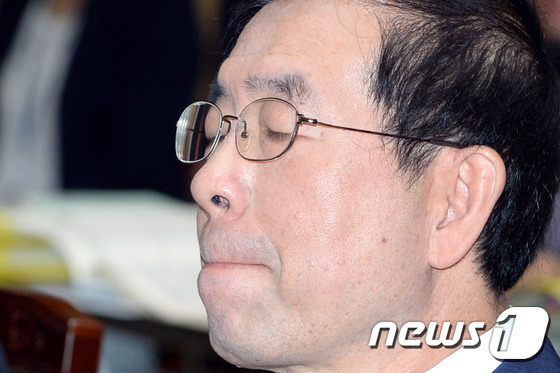 고(故) 박원순 전 서울시장 © News1 이광호 기자