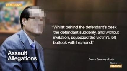 지난 25일(현지시각) 뉴질랜드 방송 뉴스허브가 심층 보도한 한국 외교관의 성추행 의혹 사건. 뉴스허브 홈페이지 캡쳐