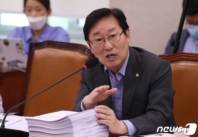 박범계 더불어민주당 의원.  © News1 박세연 기자