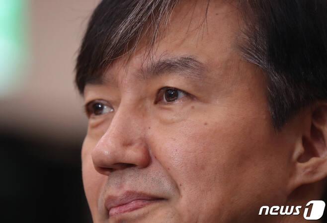 조국 전 법무부 장관 © News1 김명섭 기자