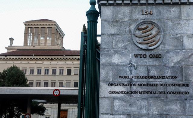 스위스 제네바 세계무역기구(WTO) 본부 전경. /연합뉴스