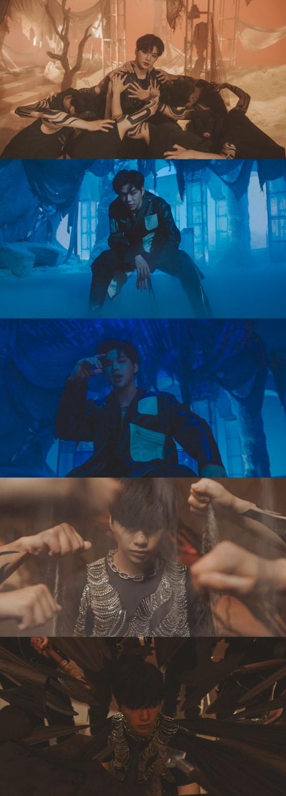 /사진=강다니엘 '깨워' 뮤직비디오 화면 캡쳐
