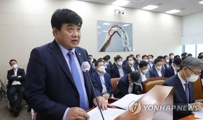 한상혁 방송통신위원회 위원장 [연합뉴스 자료사진]