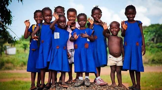 어린이들 [사진=ⓒ bobthemagicdragon/ILO 제공. 재판매 및 DB 금지]