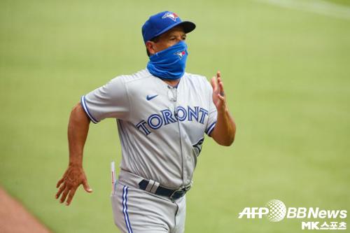 몬토요 감독이 류현진의 투구를 칭찬했다. 사진(美 애틀란타)=ⓒAFPBBNews = News1