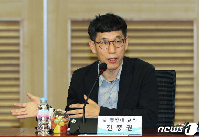 진중권 전 동양대 교수가 2020.5.15/뉴스1 © News1 성동훈 기자