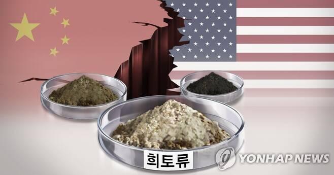 미중갈등과 중국산 희토류 (PG) [김민아 제작] 일러스트
