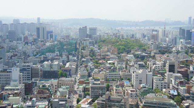 서울 강남 일대 주택가 전경./서울경제DB