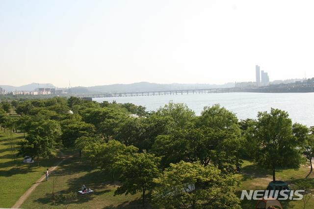 [서울=뉴시스] 잠원한강공원. (사진=뉴시스 DB). photo@newsis.com