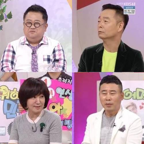 이용식-김학래-황기순-김혜영(왼쪽 위부터 시계방향). 사진|강영국 기자