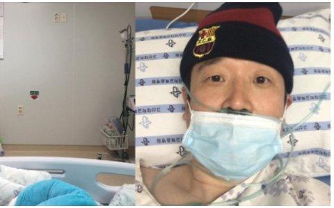 박현 교수가 지난 3월 코로나19 투병 당시 올린 게시물. 사진 '부산47' 페이스북 캡처