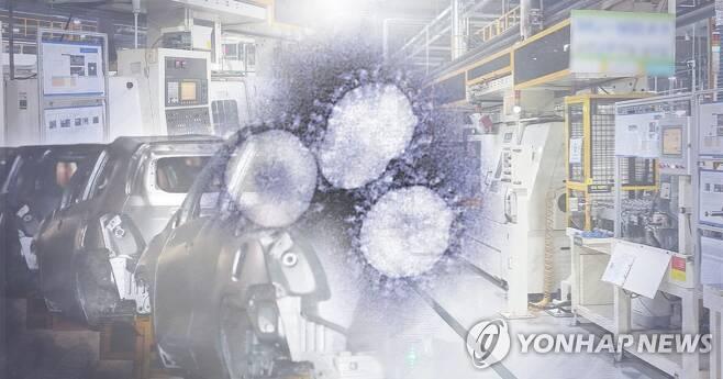 코로나19 영향 산업 위기 (PG) [정연주 제작] 사진합성·일러스트