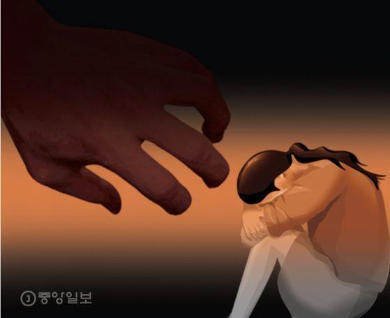 친딸을 성폭행한 친부에게 대법원이 징역 13년을 확정했다. [중앙포토]