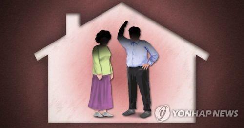 가정폭력, 남편-아내 폭행·학대(PG) [제작 이태호] 일러스트