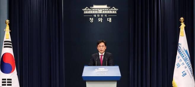 강민석 청와대 대변인 / 사진=뉴시스