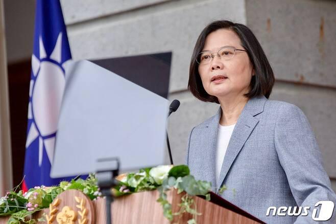 차이잉원 대만 총통. © AFP=뉴스1