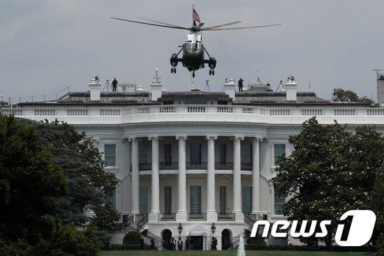 백악관. © 로이터=뉴스1