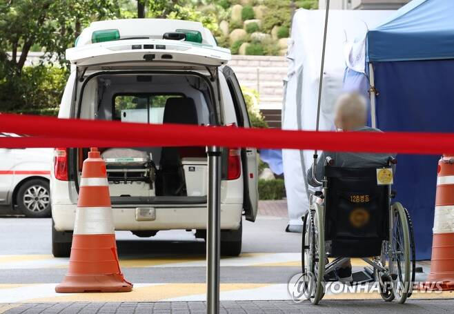 구급차 [연합뉴스 자료사진]