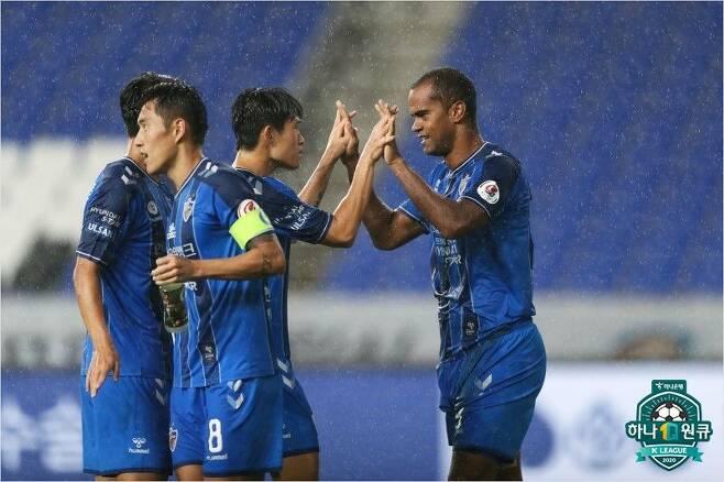K리그1 선두 울산 현대. (사진=한국프로축구연맹 제공)